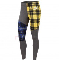 ДАМСКИ КЛИН NIKE NSW LGGNG PLAID GREY/YELLOW