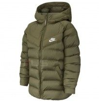 ДЕТСКО ЯКЕ NIKE NSW JACKET FILLED OLIVE