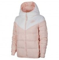 ДАМСКО ЯКЕ NIKE NSW WR DWN FILL JKT REV WHITE/PINK
