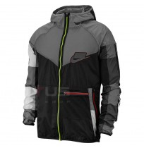МЪЖКО ГОРНИЩЕ NIKE WILD RUN WR JKT BLACK/GREY