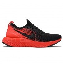 МЪЖКИ МАРАТОНКИ NIKE EPIC REACT FLYKNIT 2 BLACK/RED