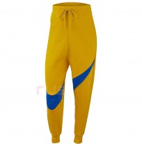 ДАМСКО ДОЛНИЩЕ NIKE NSW SWSH PANT FLC BB YELLOW