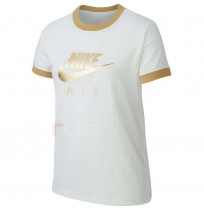 ДЕТСКА ТЕНИСКА NIKE NSW TEE NIKE AIR LOGO RINGER WHITE