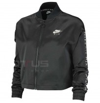 ДАМСКО ГОРНИЩЕ NIKE NSW AIR TRK JKT SATIN BLACK