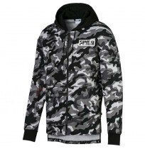 МЪЖКО ГОРНИЩЕ PUMA REBEL CAMO FZ HOODY FL BLACK
