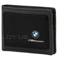 ПОРТМОНЕ PUMA BMW M MOTORSPORT WALLET BLACK