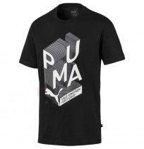 МЪЖКА ТЕНИСКА PUMA GRAPHIC EFFECT INTEREST BLACK