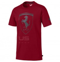 МЪЖКА ТЕНИСКА PUMA FERRARI BIG SHIELD TEE RHUBARBFerrari Big Shield Tee T-SHIRT 04 L