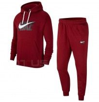 МЪЖКИ СПОРТЕН ЕКИП NIKE NSW CE TRK SUIT HD FLC GX RED