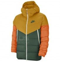 МЪЖКО ЯКЕ NIKE NSW DWN FILL WR JKT HD GOLD/JADE