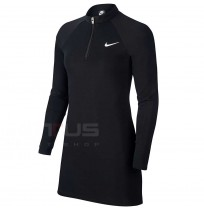 ДАМСКА РОКЛЯ NIKE NSW DRESS LS BLACK