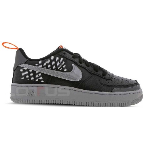 ДЕТСКИ ОБУВКИ NIKE AIR FORCE 1 LV8 2 (GS) BLACK/GREY