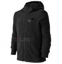 ДЕТСКО ГОРНИЩЕ NIKE NSW HOODIE FZ WINTERIZED BLACK