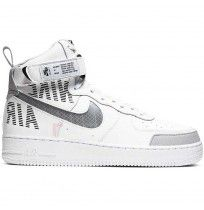 МЪЖКИ ОБУВКИ NIKE AIR FORCE 1 HIGH 07 LV8 2 WHITE