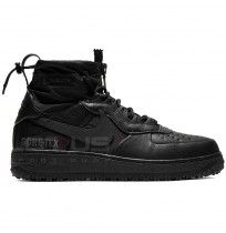 МЪЖКИ ОБУВКИ NIKE AIR FORCE 1 WTR GTX BLACK