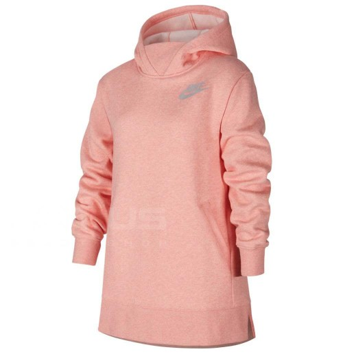 ДЕТСКА БЛУЗА NIKE NSW PE FLC TOP WZ PINK