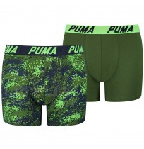 ДЕТСКИ БОКСЕР PUMA BOXER 2P SEASONAL BOXER NAVY/GREEN