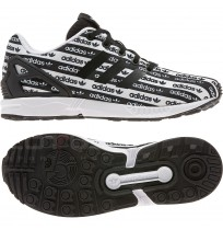 МАРАТОНКИ ADIDAS ORIGINALS ZX FLUX J BLACK