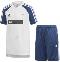 ДЕТСКИ СПОРТЕН ЕКИП ADIDAS MESSI JB M SUM SET WHITE/BLUE