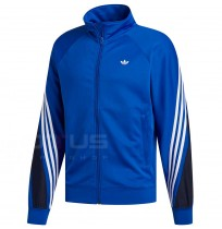 МЪЖКО ГОРНИЩЕ ADIDAS 3STRIPE WRAP TT BLUE