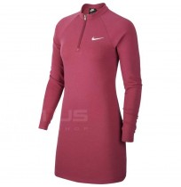 ДАМСКА РОКЛЯ NIKE NSW DRESS LS MULBERRY