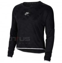 ДАМСКА БЛУЗА NIKE AIR MIDLAYER CREW BLACK