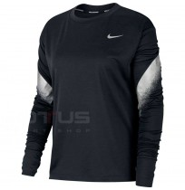 ДАМСКА БЛУЗА NIKE MIDLAYER RUNWAY BLACK