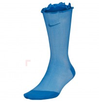 ДАМСКИ ЧОРАПИ NIKE SHEER ANKLE - ROLL TOP BLUE