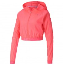ДАМСКО ЯКЕ PUMA BE BOLD WOVEN JACKET PINK