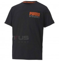 ДЕТСКА ТЕНИСКА PUMA ALPHA ADVANCED TEE B BLACK