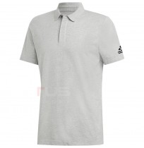 МЪЖКА ТЕНИСКА ADIDAS MH PLAIN POLO GREY