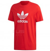 МЪЖКА ТЕНИСКА ADIDAS TREFOIL T-SHIRT RED