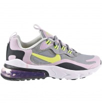 ДЕТСКИ МАРАТОНКИ NIKE AIR MAX 270 REACT (GS) GREY/LILAC