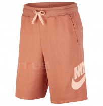 МЪЖКИ КЪСИ ПАНТАЛОНИ NIKE NSW HE SHORT FT ALUMNI TERRA BLUSH/CORAL