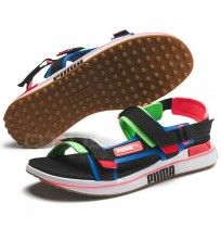 ДАМСКИ САНДАЛИ PUMA RIDER SANDAL GAME ON BLACK/BLUE/GREEN
