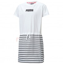 ДЕТСКА РОКЛЯ PUMA ALPHA G DRESS WHITE