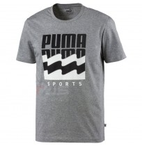 МЪЖКА ТЕНИСКА PUMA SUMMER GRAPHIC TEE GRAY