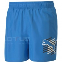 МЪЖКИ ШОРТИ PUMA ESS+ SUMMER SHORTS GRAPHIC BLUE