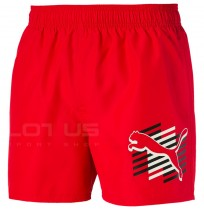 МЪЖКИ ШОРТИ PUMA ESS+ SUMMER SHORTS GRAPHIC RED