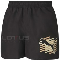 МЪЖКИ ШОРТИ PUMA ESS+ SUMMER SHORTS GRAPHIC BLACK