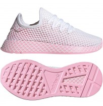 ДАМСКИ МАРАТОНКИ ADIDAS ORIGINALS DEERUPT RUNNER W WHITE/PINK