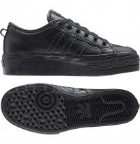 ДАМСКИ ОБУВКИ ADIDAS ORIGINALS NIZZA PLATFORM W BLACK