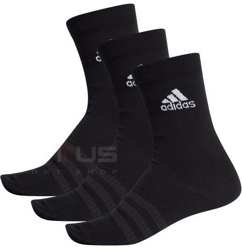 ЧОРАПИ ADIDAS LIGHT CREW 3PP BLACK