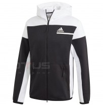 МЪЖКО ГОРНИЩЕ ADIDAS ZNE FZ BLACK/WHITE