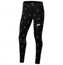 ДЕТСКИ КЛИН NIKE NSW FAVORITES LEGGING AOP BLACK