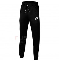 ДЕТСКО ДОЛНИЩЕ NIKE NSW POLY TAPERED PANT BLACK
