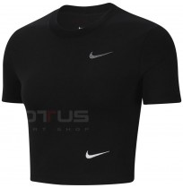 ДАМСКА ТЕНИСКА NIKE NSW TEE SLIM CROP LBR BLACK