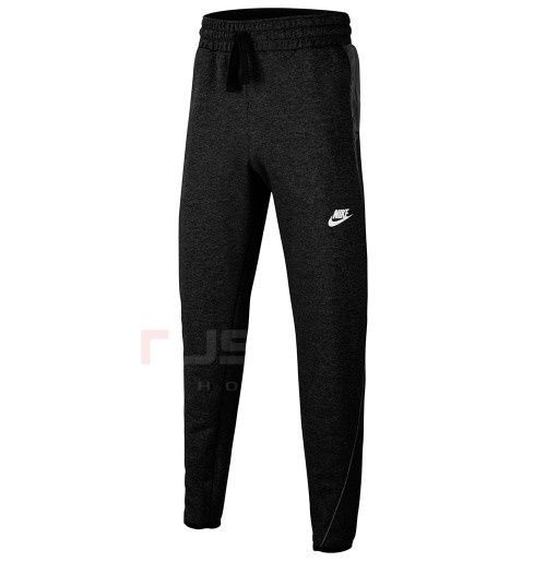 ДЕТСКО ДОЛНИЩЕ NIKE NSW MIXED MATERIAL PANT BLACK