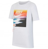 ДЕТСКА ТЕНИСКА NIKE NSW TEE FUTURA BEACH WHITE