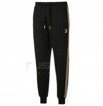 МЪЖКО ДОЛНИЩЕ PUMA TFS WORLDHOOD TRACK PANTS FT BLACK